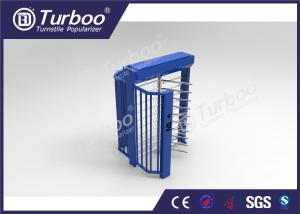China Indoor / Outdoor Full Height Turnstile Access Control System With Multi Mode on sale