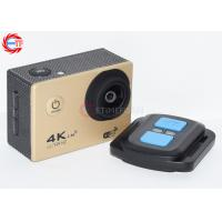 4K Gold Remote Control Action Camera 1080P 60fps EF60R WIFI Video Camcorder