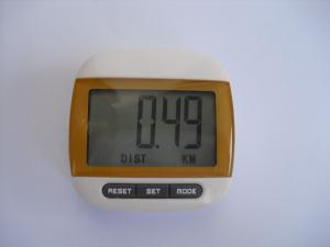 China ABS material FM radio, alarm clock Digital Pocket Pedometer with CE, ROHS on sale