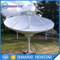 China 8feet c or ku band high gain ring focus RxTx telecommunication antenna on sale