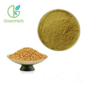 China Dredging Analgesic Plant Extract Powder White Mustard Seed Extract Powder on sale