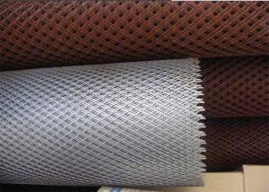 China Decorative Flattened Expanded Metal Mesh 4x8 With Diamond Hole Pattern on sale