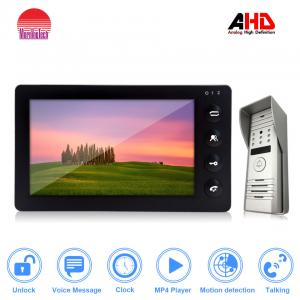 China Hot ! AHD Visible interphone with 1.3MP resolution support MP3&MP4 on sale