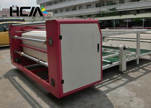China Garment Roll To Roll Heat Press Machine Sublimation With Oil Heating Roller on sale
