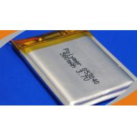 580mAh  3.7V  Light weight Polymer Lithium Ion Batteries for portable DVD player
