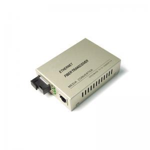 China 10/100/1000M SFP LC SC Fast Gigabit Fiber Optic Media Converter RJ45 SC Connector on sale