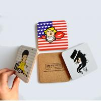 China Promtion new design drink coaster custom mdf coaster on sale