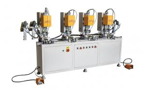 China Automatic Upvc Welding Machine Plastic Profile Window Screw Fastening Machine 1KW on sale