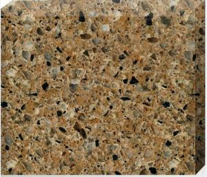 China 93% Quartz Stone Countertops / Flooring Tiles 15 - 30mm Thickness Optional on sale