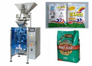 China Granular Food Vertical Form Fill And Seal Packaging Machines 2000ML / Bag on sale