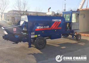 China Electric Hydraulic Diesel 80m3/h Truck Mounted Concrete Pump on sale