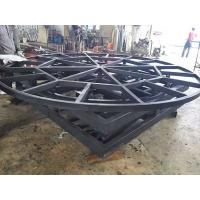 Lifting, rotating and tilting stage and light frame, trolley track system