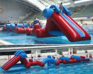 China Inflatable Water Obstacle Course, Inflatable Water Sports For Sale on sale