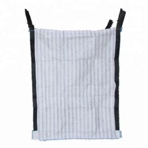 China 100% PP Woven Industrial Mesh Bags Custom Size / Full Open Top Available on sale
