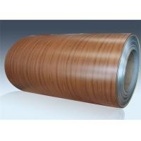 China Room Door PVC Film Metal Laminate Sheets Laser Coated Cold Rolled Steel Coil on sale