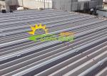 Mounting Flexible Solar Panel Pv Rails Roof Mounting Aluminum Reliable Construct
