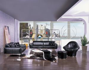 Quality Living Room Furniture Luxury Leather Sofas ,  European Modern Style for sale