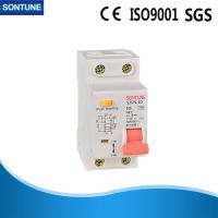 China STPN-40 C40 2P RCBO Circuit Breaker CE Certificate Plastic Texture on sale