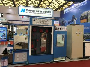 China AC 3 Phase Copper Wire Drawing Machine , Durable High Speed Wire Drawing Machine on sale