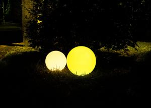China 7.88 Inches Colour Changing LED Ball Light 16 Colors Fit For Festival Decoration on sale