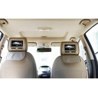 Car Headrest DVD Players With FM Wireless Game Joystick , Dual Speakers And Dual IR