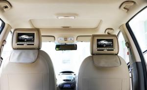 China HD LED Screen Car Headrest DVD Players With English OSD Menu on sale