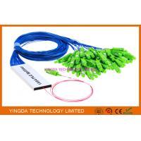 1/16 Fiber Optic PLC Splitter Ribbon Broadband FTTH Splitter Coupler 1 x 16