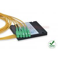 Tree / Star Type Fiber Optic Splitter ABS Box Singlemode 1x4 Fused FBT Coupler