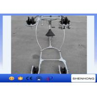 Overhead Line Conductor Installation Stringing Tools Conductor Aerial Cart