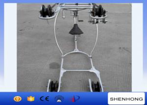 China Overhead Line Conductor Installation Stringing Tools Conductor Aerial Cart on sale