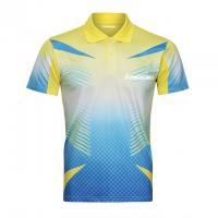 Factory No Minimum Custom Digital Print table tennis jersey design Unisex Tennis Spor tennis shirt