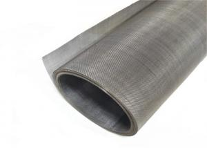 China Food Grade 304 316L Stainless Steel Woven Wire Mesh Screen Plain Weave on sale
