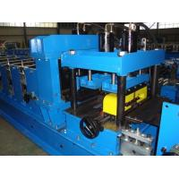 China Galvanized Steel CZ Purlin Roll Forming Machine Hydraulic Hole Punching CE Standard on sale