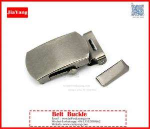 China 40mm solid brass custom army slide belt buckle for sale on sale