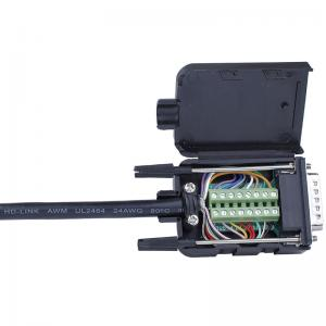 DB15 D-SUB 2 Row 15 Pin Plug Breakout Terminals Board ConnectTR.z