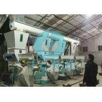 Rice Husk Sawdust Wood Pellet Production Line / Industrial Wood Pellet Mill