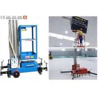 Office Buildings Aerial Work Platform Push Around 8 Meter Height For One Man