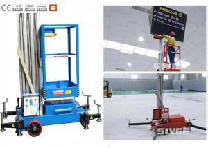 China Office Buildings Aerial Work Platform Push Around 8 Meter Height For One Man supplier
