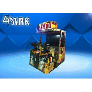 China Indoor Adult Rambo 2 Shooting Arcade Machines Coin Operated Hardware Material on sale