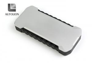 China Super Slim Car Jump Start Battery , Portable 12v Battery Jump Starter 12000mAh on sale