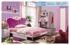 Model 805 de lit de rose de princesse de meubles de chambre ...