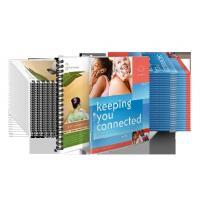 design full color catalog booklet printing in word