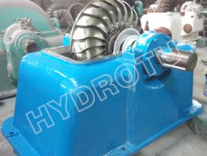 China Small Impulse Turbine / Turgo Hydro Turbine With Stainless Steel Runner For Renewable Energy on sale