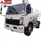 Professional 3CBM Concrete Mixer Truck  4*2 Feed Concrete Mixer Trucks For transit Cement