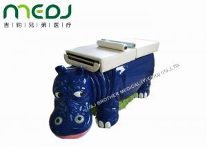 China Fiberglass Pediatric Examination Table MJSD03-05 With Gas Spring Adjust Back on sale