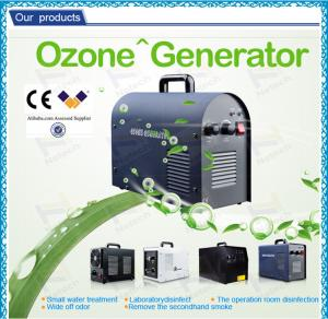 China Car portable air purifier Hotel Ozone Machine / air cooling auto ozone generator on sale