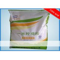 Food Grade White Crystal Particle Citric Acid Cas 77-92-9 For PH adjuster / Neutralizer