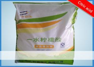 China Food Grade White Crystal Particle Citric Acid Cas 77-92-9 For PH adjuster / Neutralizer on sale