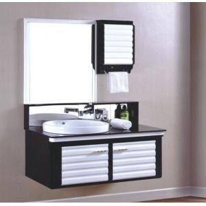 China PVC Storey Height Bethroom Cabinets / Bathroom Furniture on sale