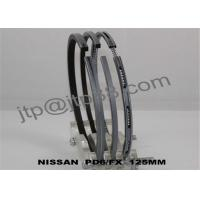 Original NISSAN Diesel Engine PD6 / PD6T Piston Ring Parts Axial Width 2.0 + 2.0 + 4.0mm